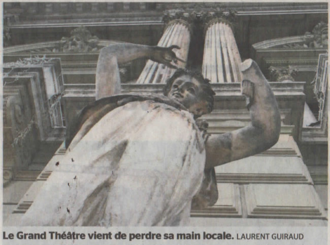 Les sculpteurs sur pierre genevois se sentent lésés dans le chantier de l'opéra